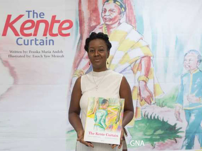 Franka Maria Andoh's book 'The Kente Curtain'