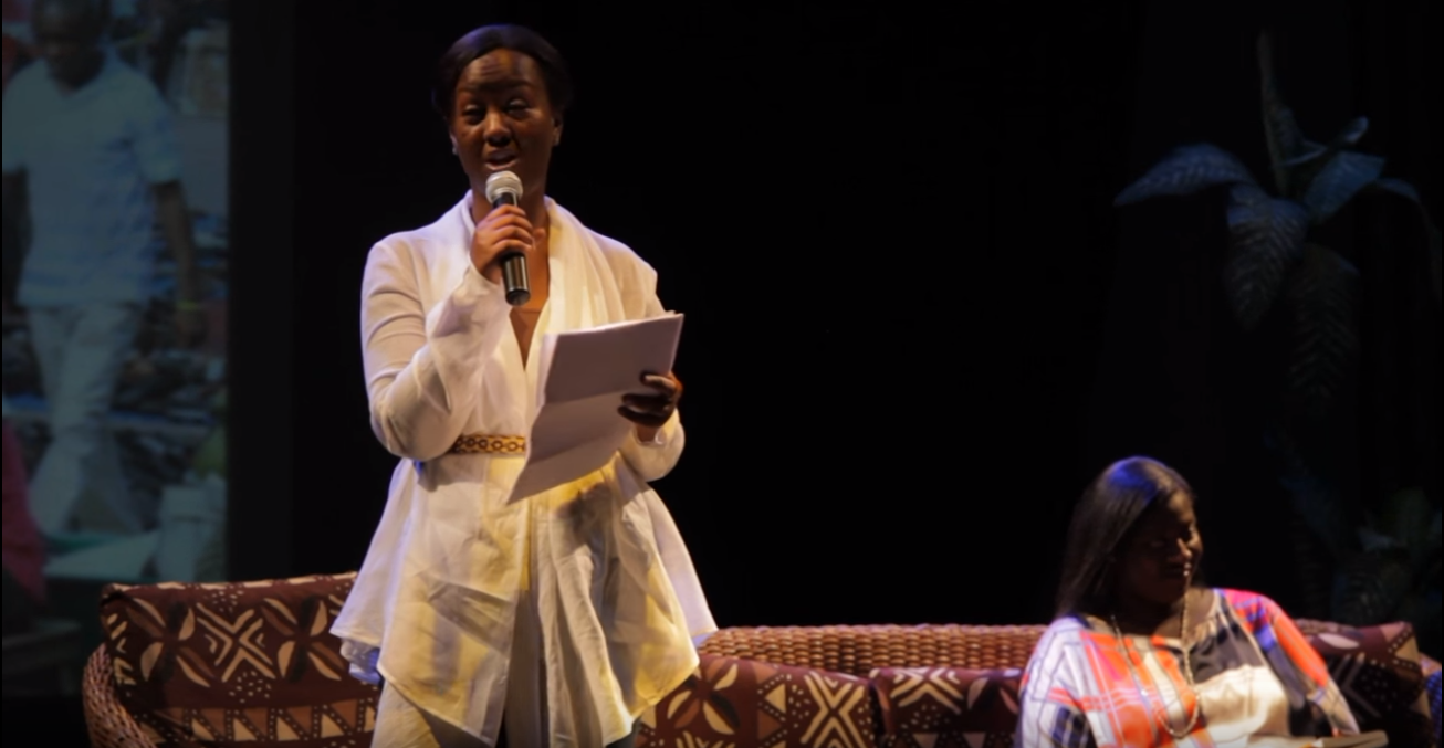 FRANKA ANDOH'S STORY FOR INTERNATIONAL WOMEN'S DAY 'BOOK SLAM'.